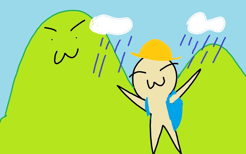 引きこもりアラサー女が、雨降山(大山)に登ってみたら最高だった