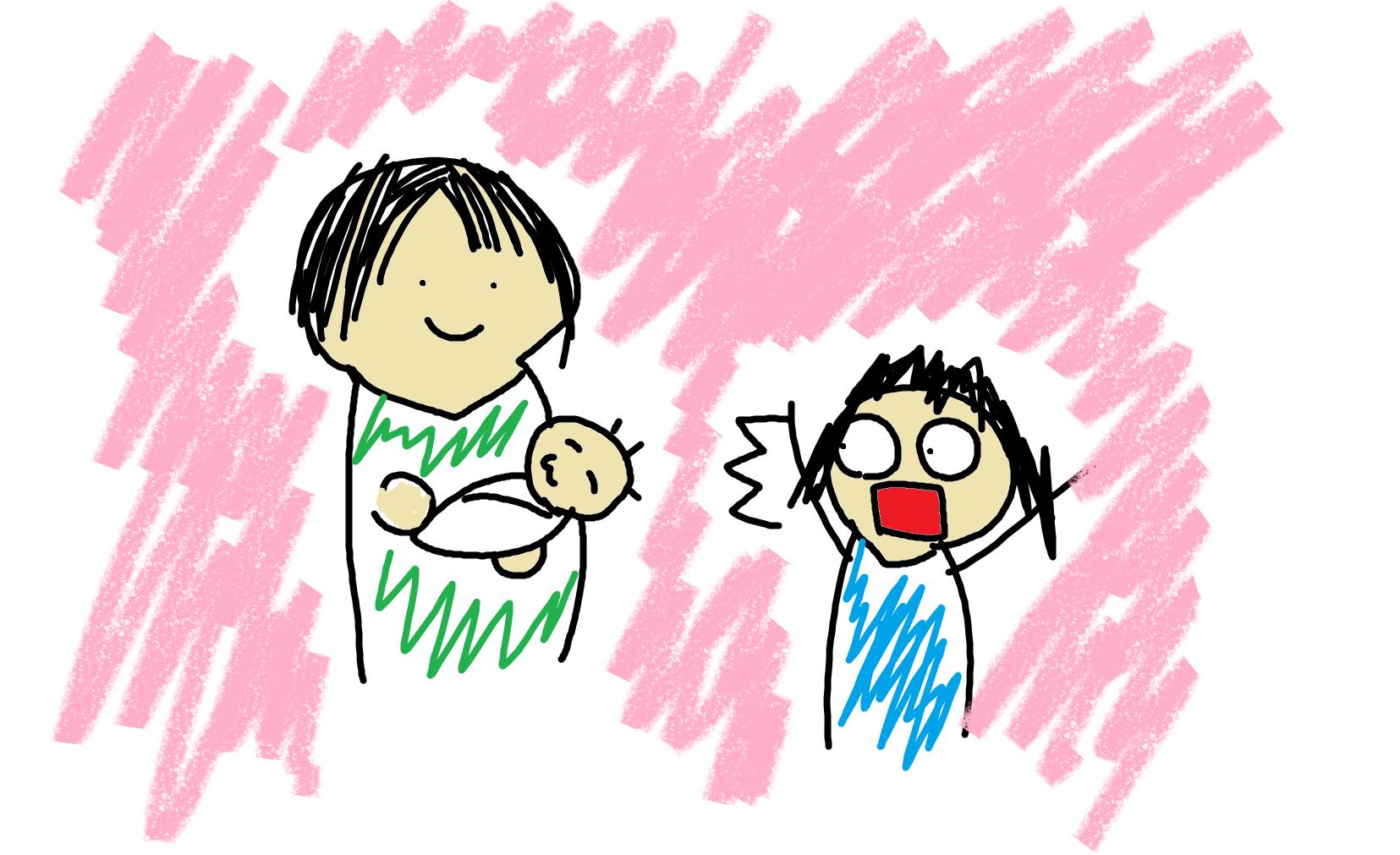 アラサー独身女が、赤ちゃんを産んだ旧友に会って衝撃を受けた話