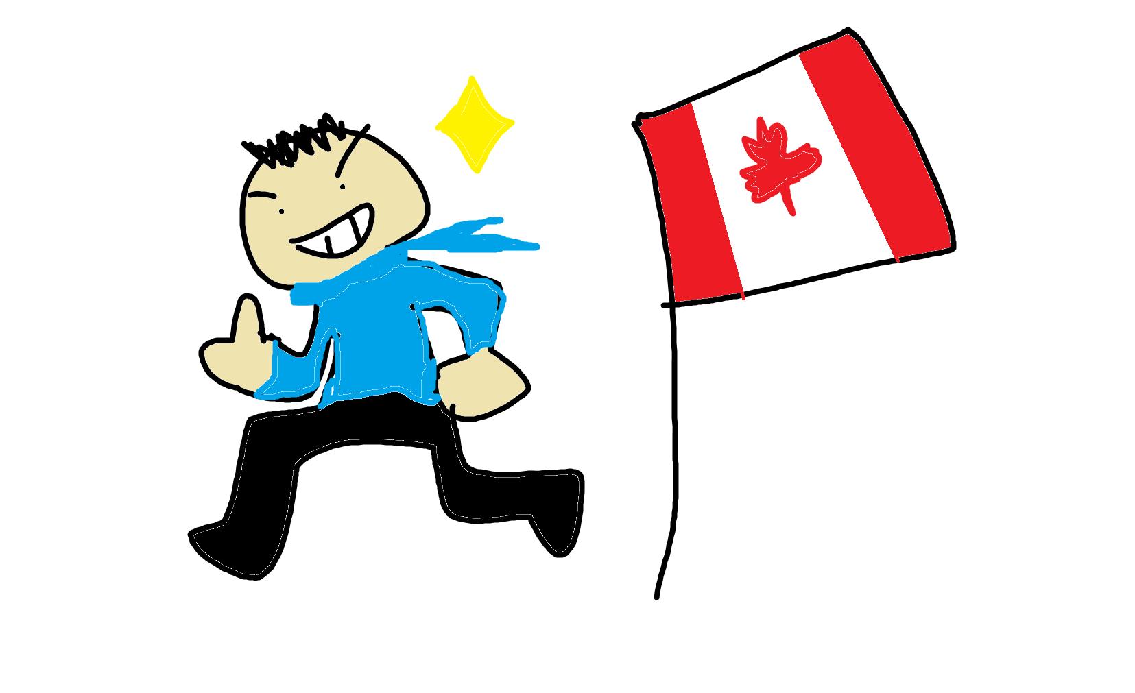 ユーコンで【カナダの永住権取得】を目指す男友達が、色々とすごすぎる。